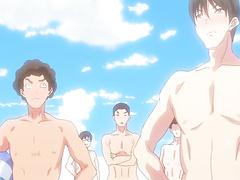 Nudist Beach ni Shuugakuryokou de ep1 RUS SUB